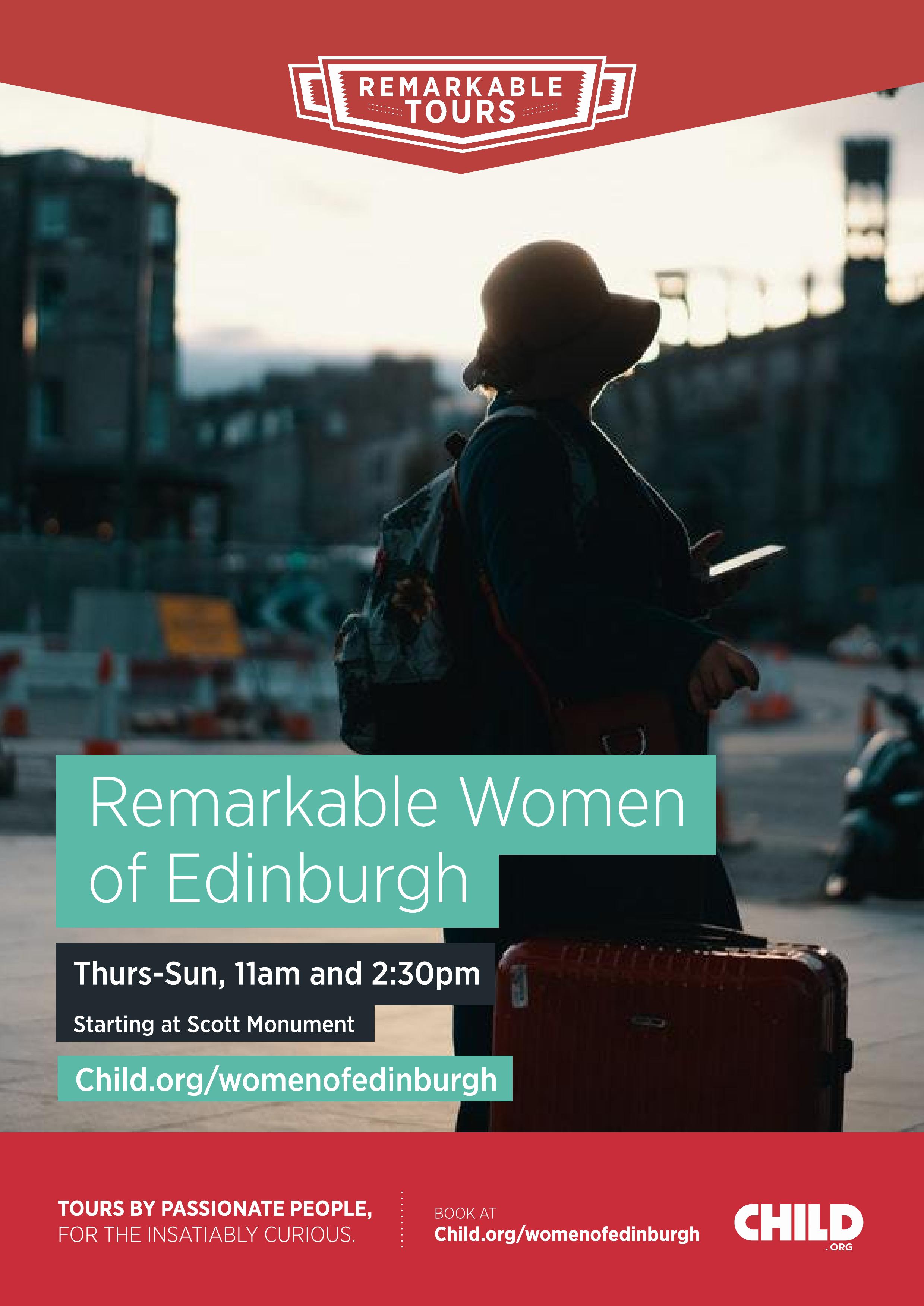 Remarkable Tours - The Remarkable Women of Edinburgh