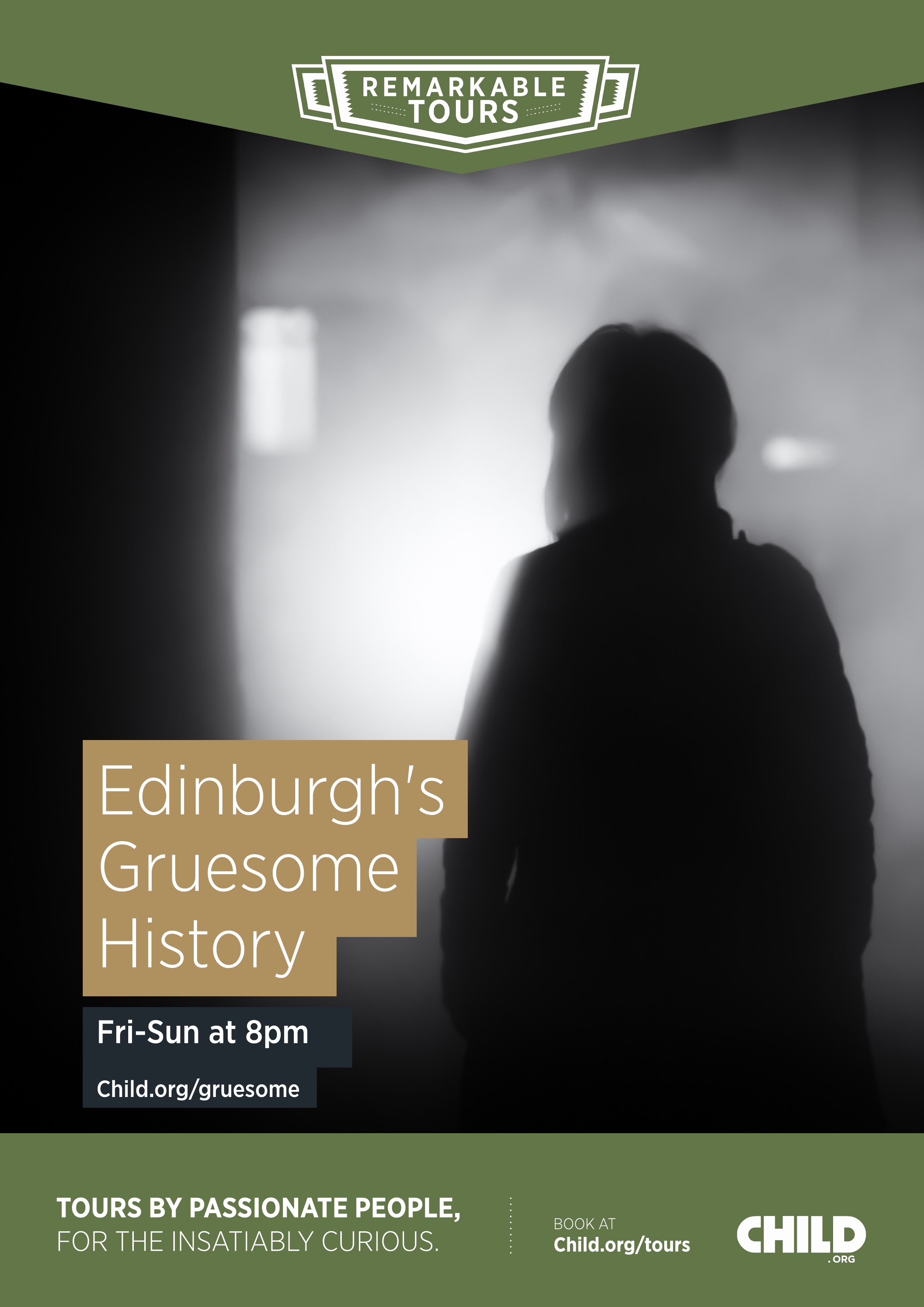 Edinburgh's Gruesome History Poster