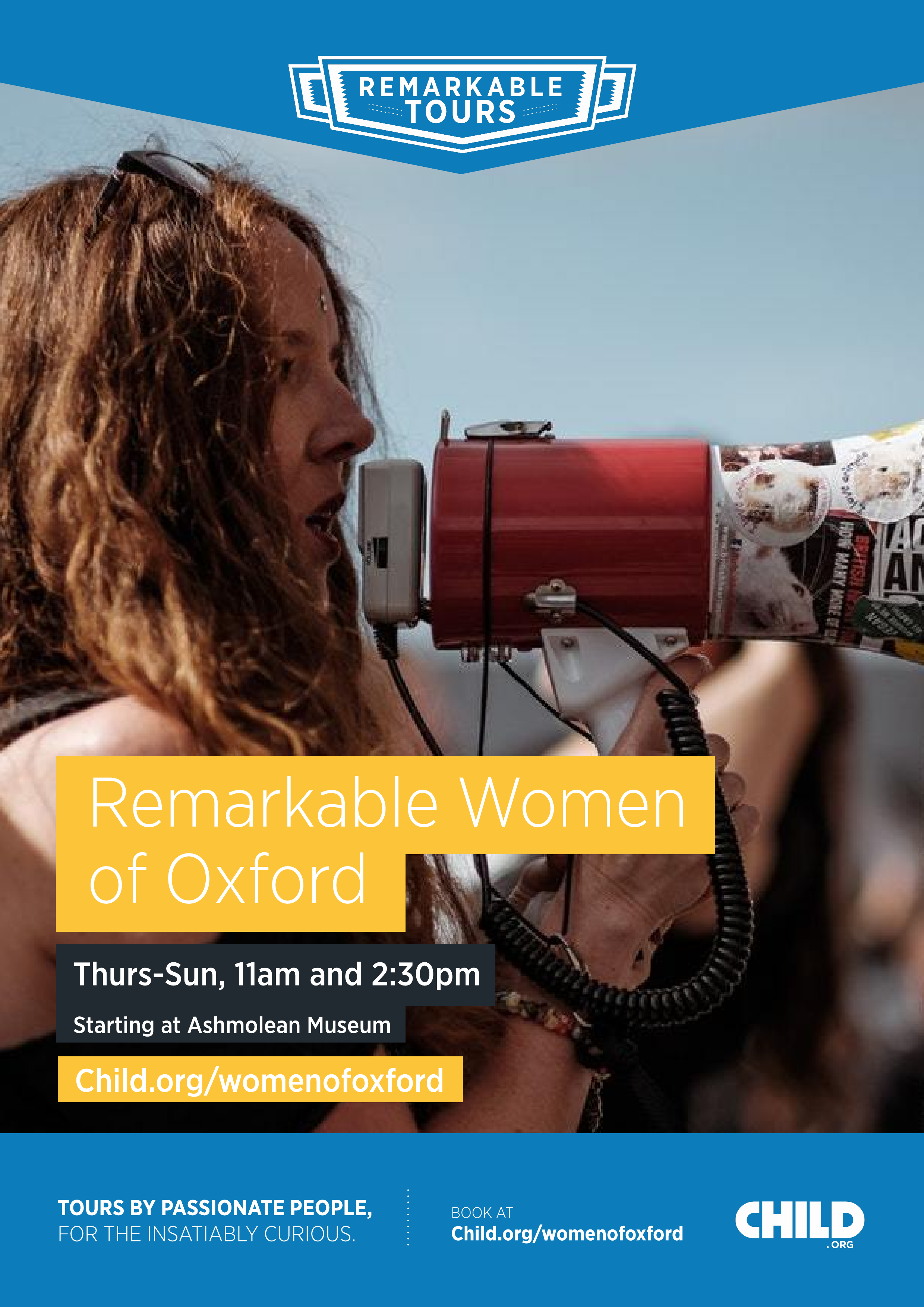 Remarkable Tours - The Remarkable Women of Oxford