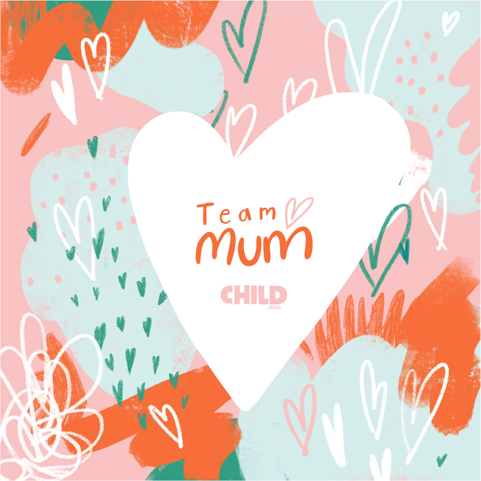 Team Mum, Child.org logo's