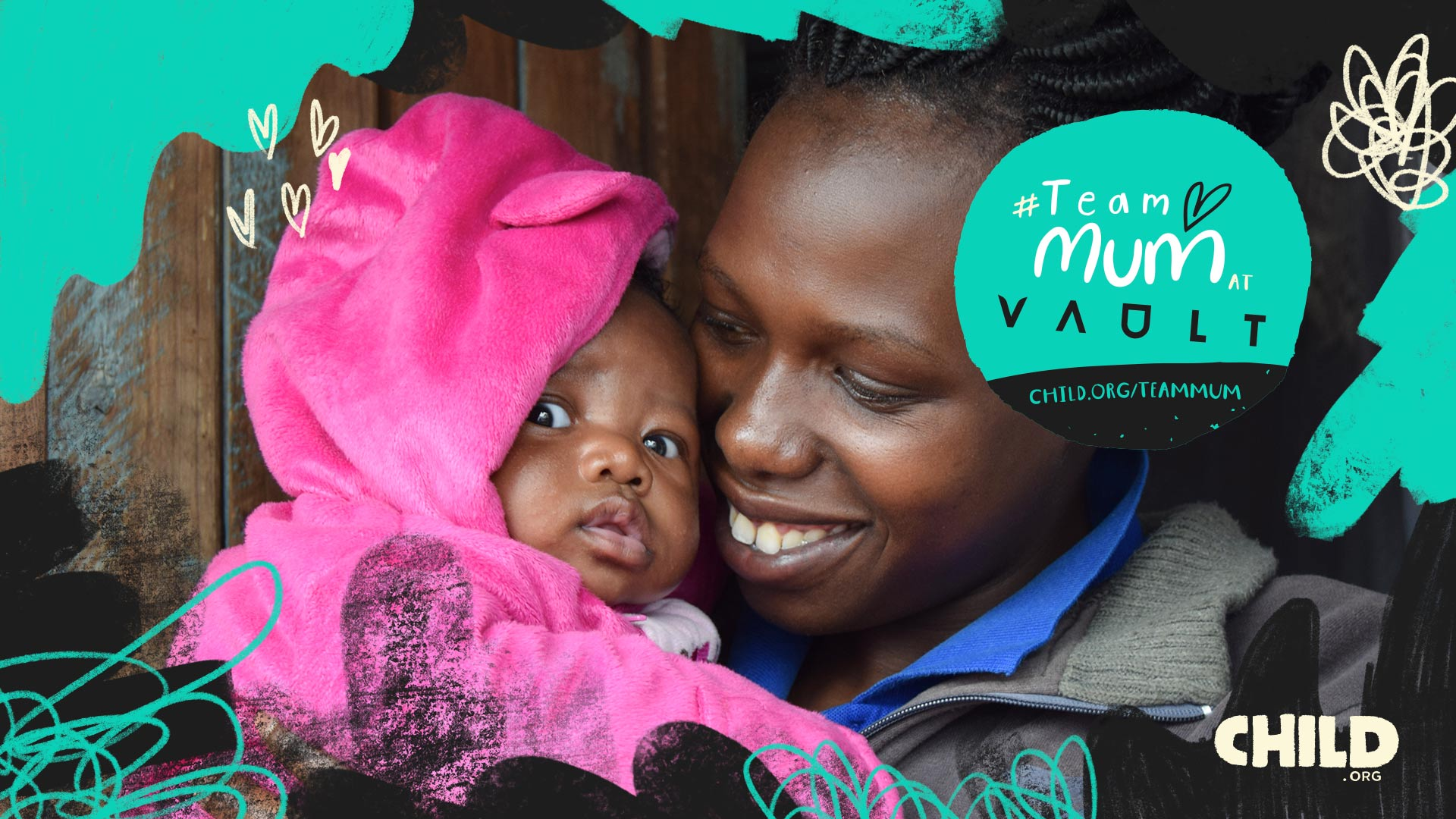 Team Mum at Vault Festival Child.org