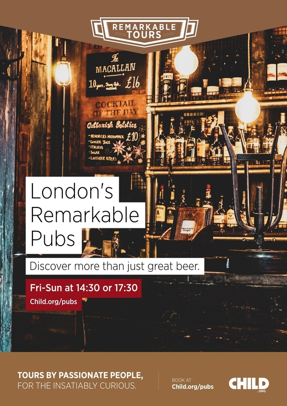 London's Remarkable Pubs Poster