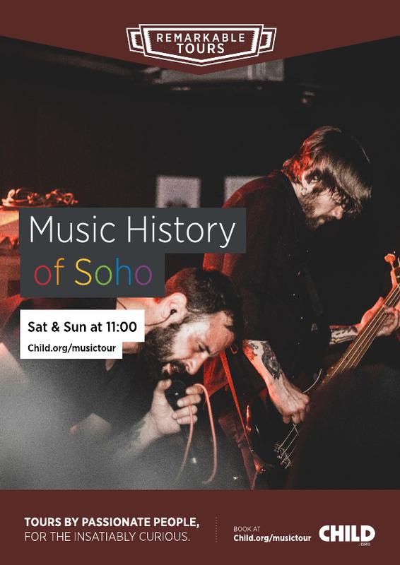 Music History of Soho Poster